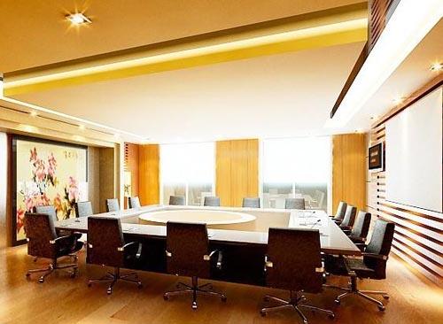 大型写字楼会议室亚搏娱乐官网设计